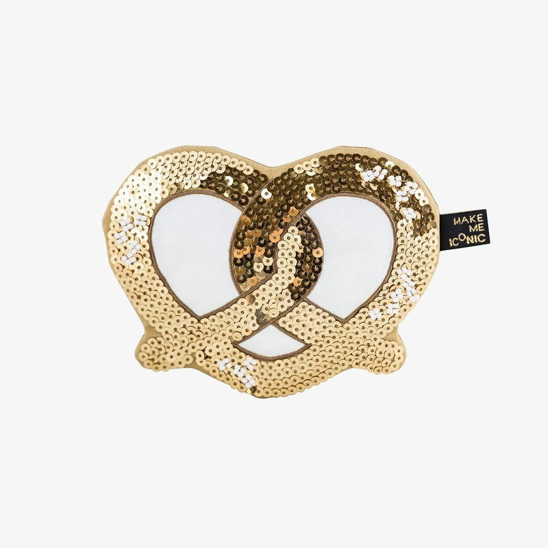 Make me Iconic Accessories Sequin Purse - Pretzel