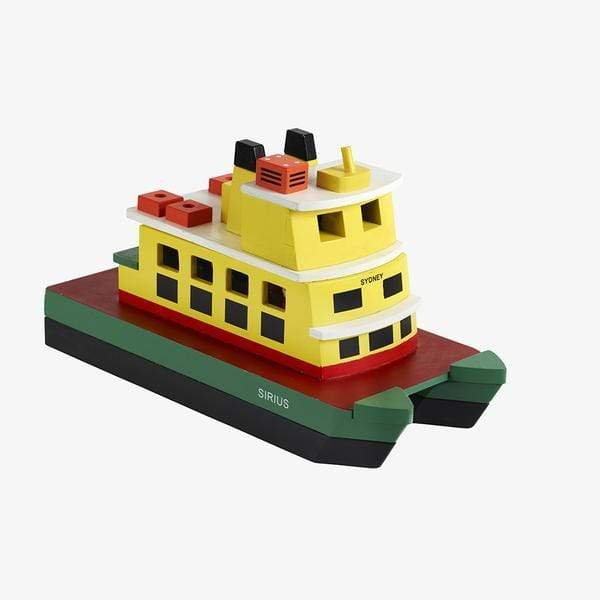 Make me Iconic Wooden Toys Iconic Ferry
