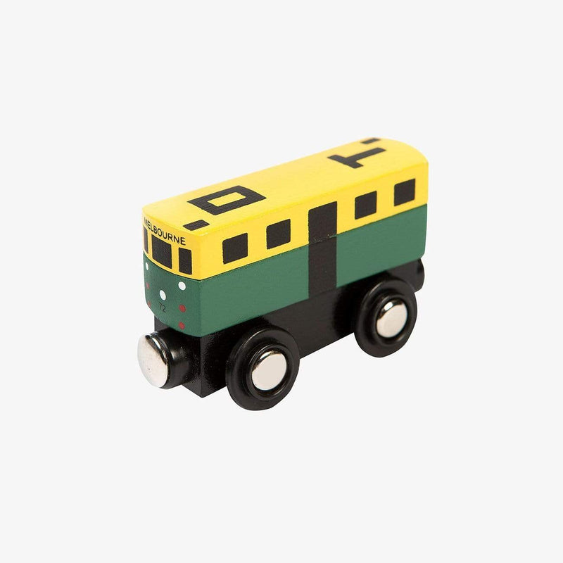 Make me Iconic Wooden Toys Iconic Mini Tram