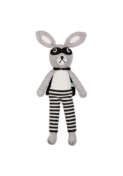 Miann & Co Soft Toys Bandit Bunny Miann & Co Large Soft Toy