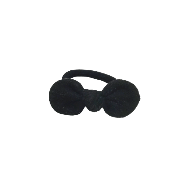 Milk & Soda Hair Ties Suedette Bow Elastic