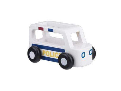 Moover Wooden Toys Police Car Mini Cars