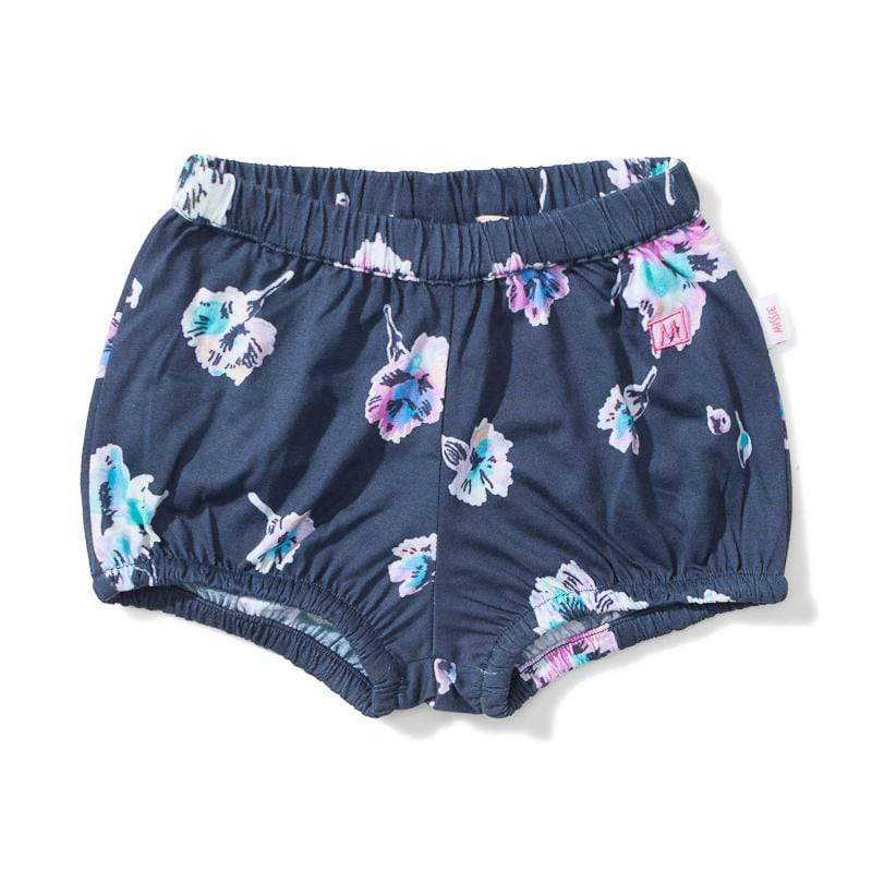 Lil Missie Munster Song Water Floral Bloomers
