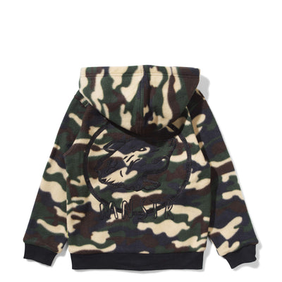 Munster Jackets Fluffy Jacket - Camo