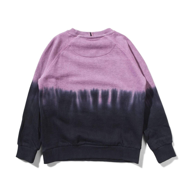 Munster Jumpers Downside Crew - Black Magenta