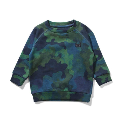 Munster Jumpers In Disguise Crew - Camo