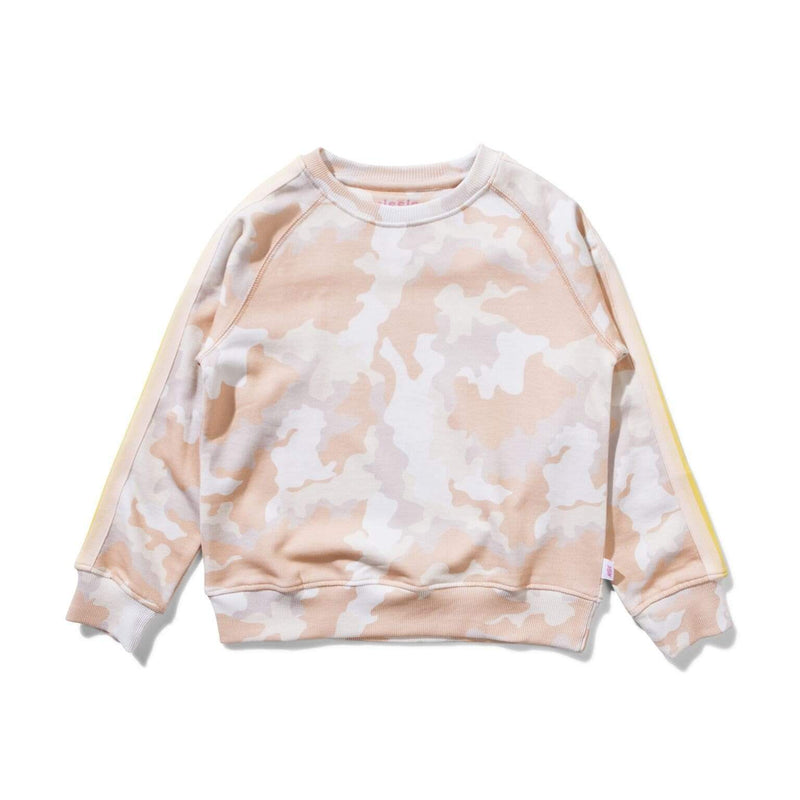 Munster Jumpers Land of Wonders Crew - Pastel Camo