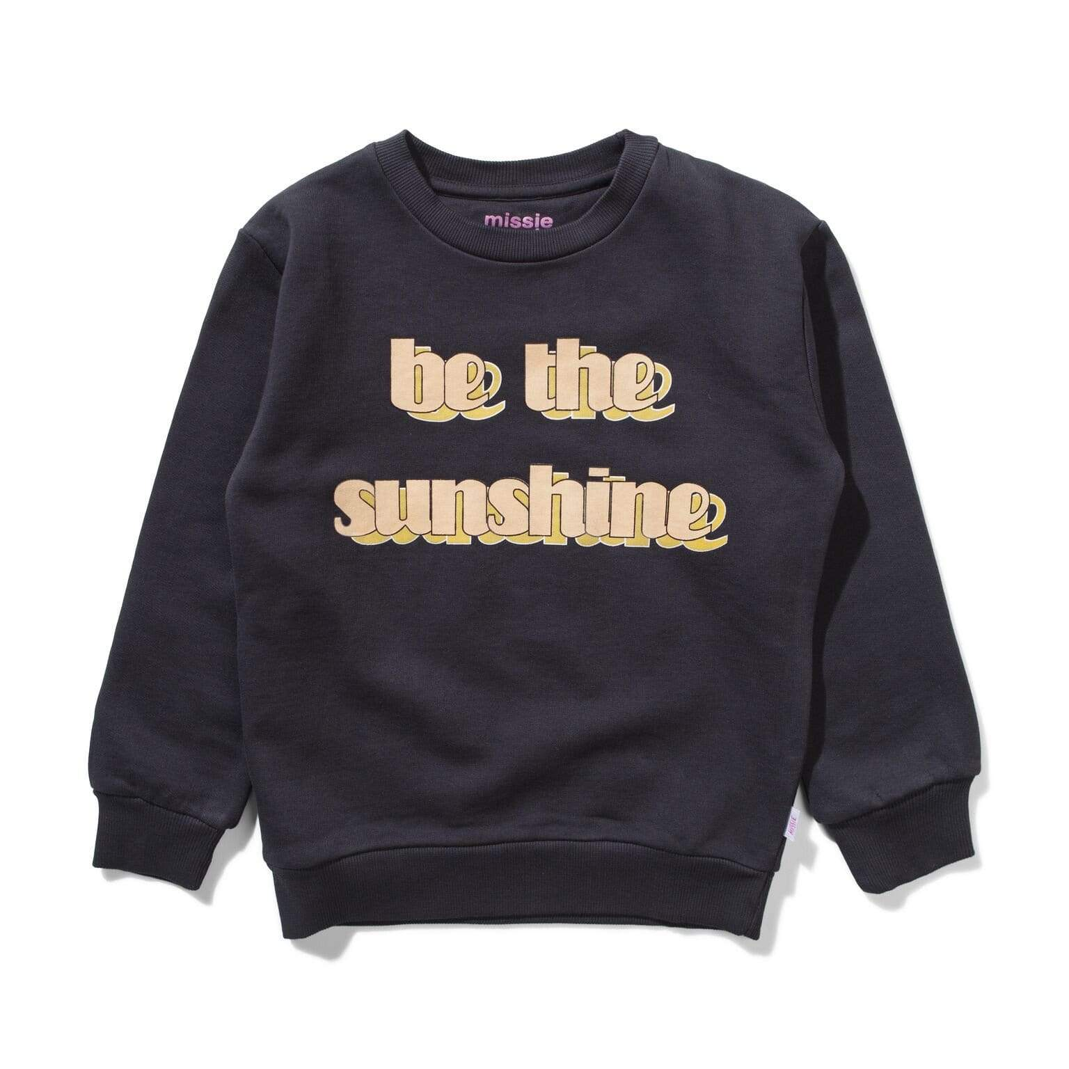 Munster Jumpers Sunshine Crew - Black