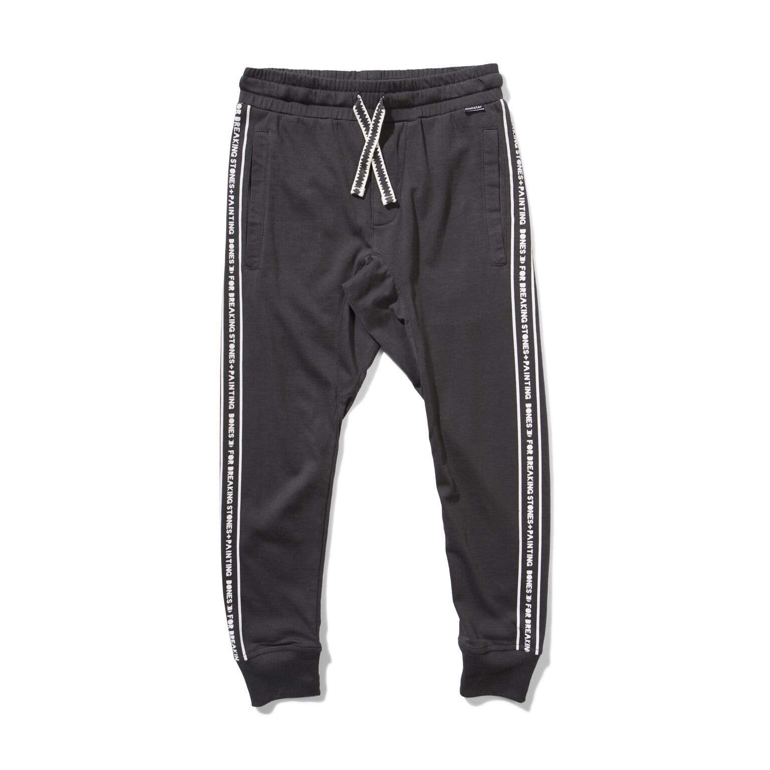 Munster Pants Stones Pant - Soft Black
