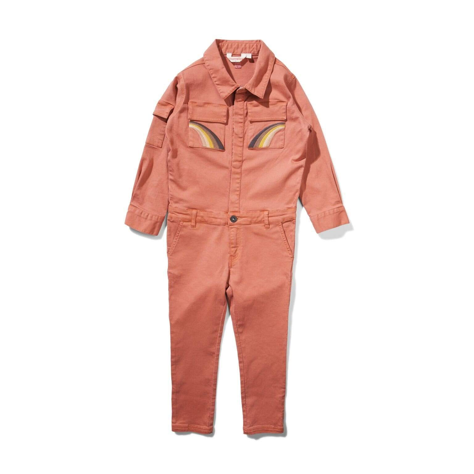 Munster Playsuit & Jumpsuit Pride & Power Jumpsuit - Rust