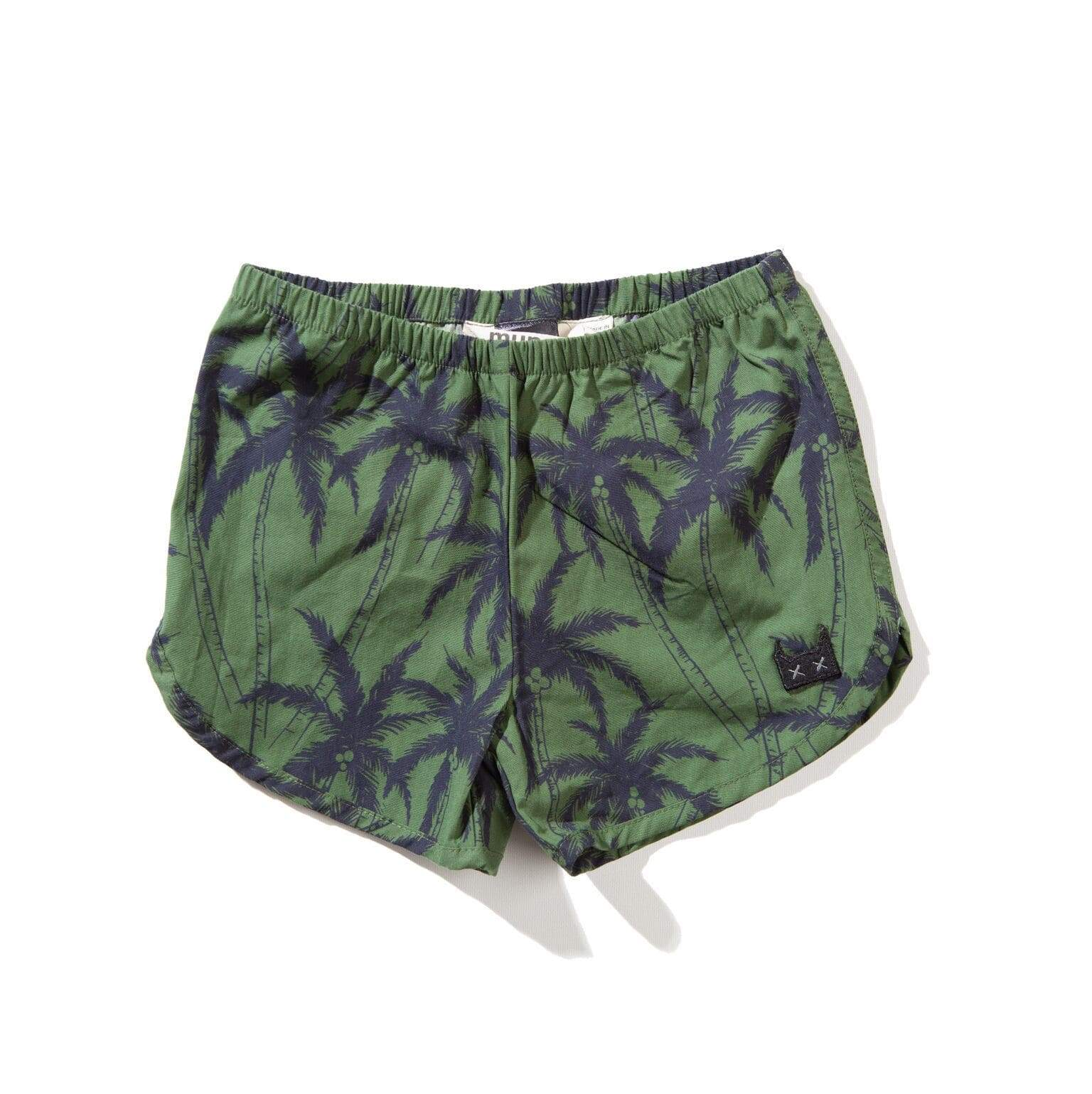 Munster Shorts 0-3m Coconuts Short - Palm Yardage