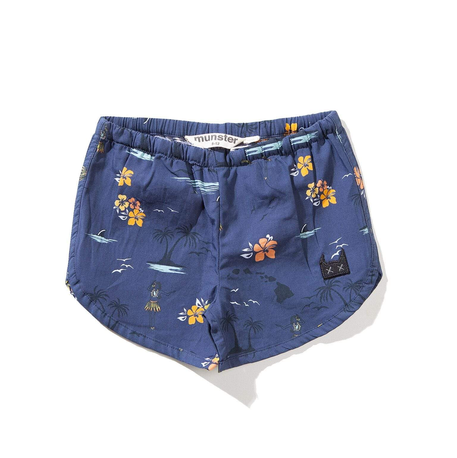 Mini Island Short - Navy