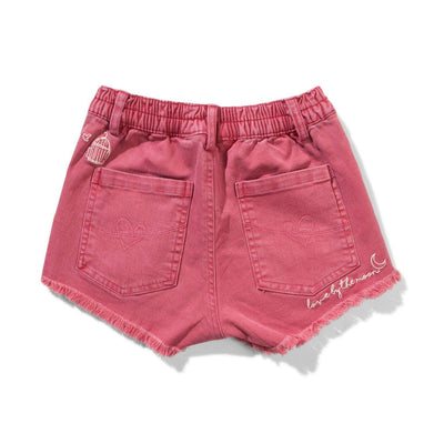 Munster Shorts Missie Munster Circa Washed Red