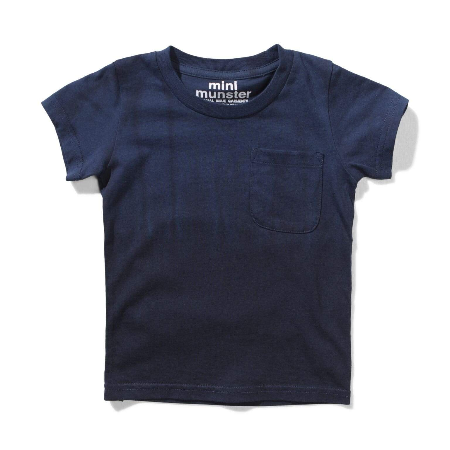 Munster T Shirt Rocket Tee - Midnight Dip Dye