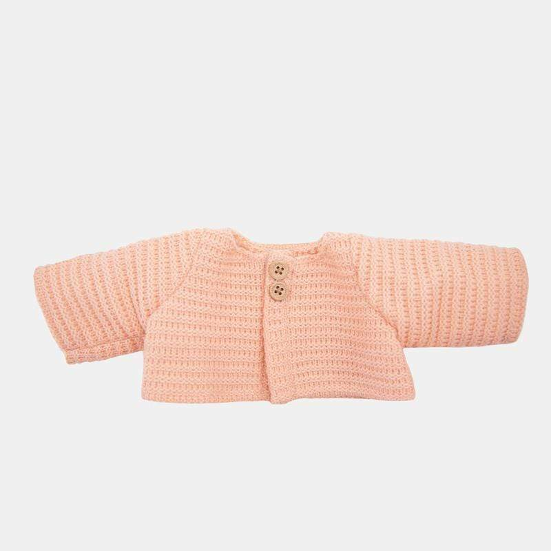 Dinkum Dolls Single Cardigan - Rose