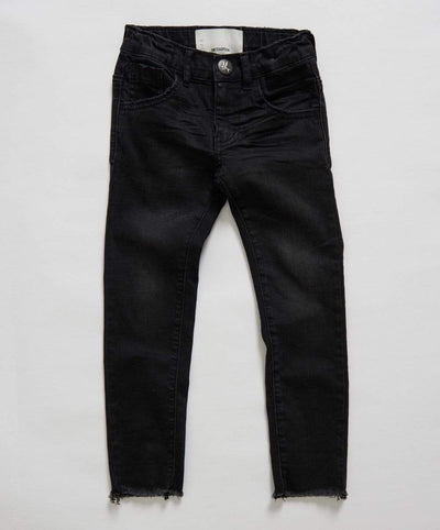 One Teaspoon Jeans 4-5Y Oneteaspoon Freebirds II Skinny Jean - Black Punk