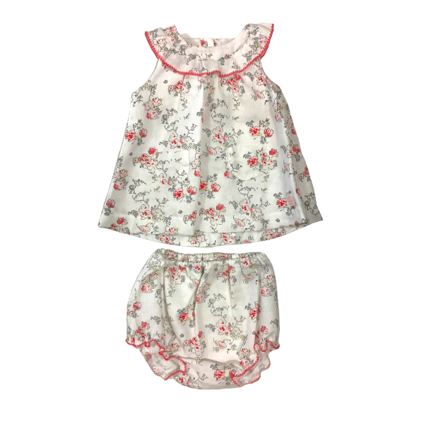 Dress + Bloomers - Floral