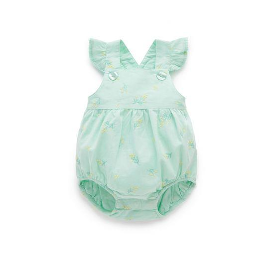 Pure Baby Mimosa Romper - Broderie