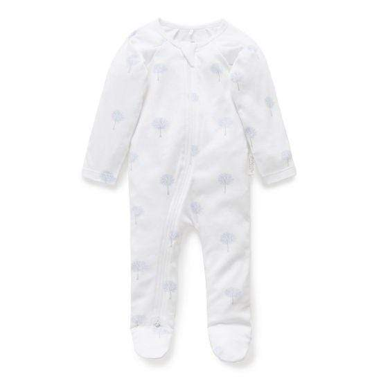 Pure Baby Zip Growsuit