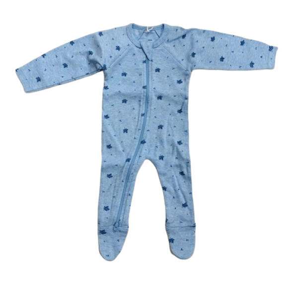 Pure Baby Rompers Premi Crossover LS Growsuit