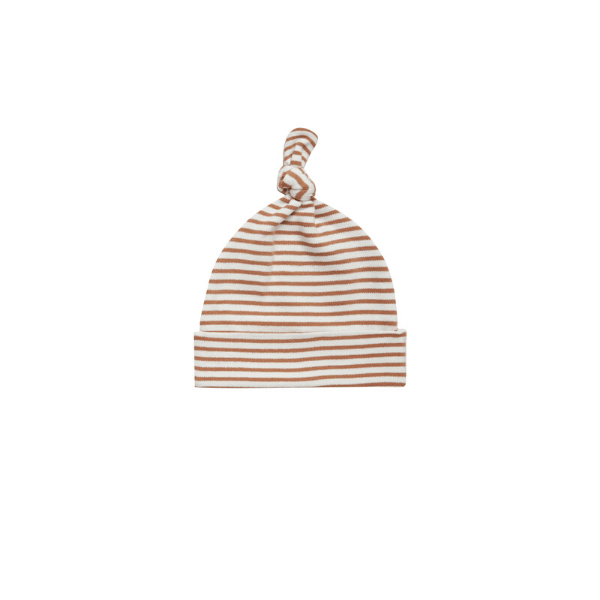 Baby Hat - Rust Stripe