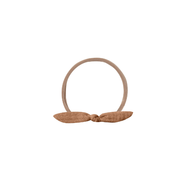 Quincy Mae Headbands Little Knot Headband - Rust