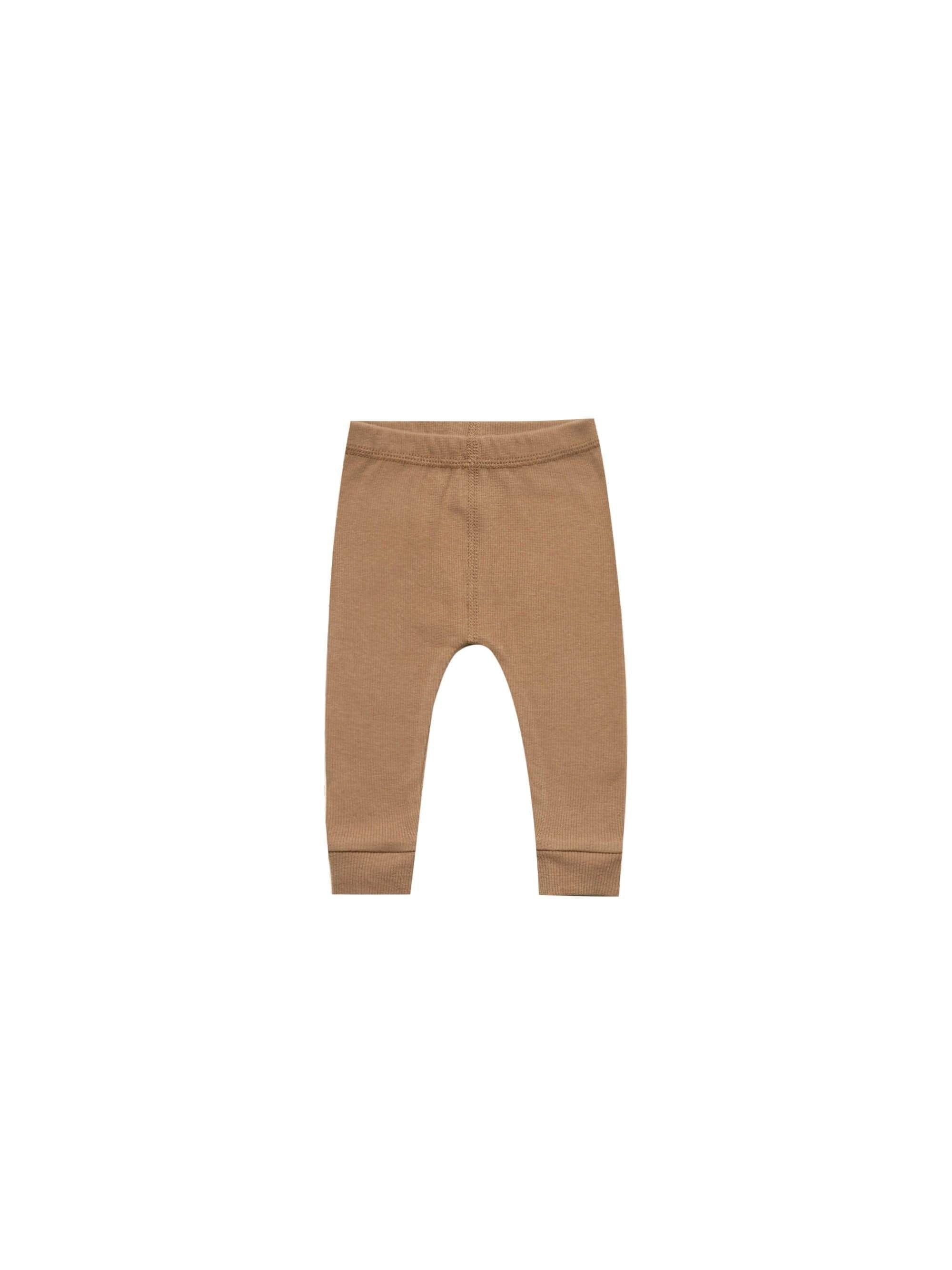 Quincy Mae Pants 18-24 / Copper Quincy Mae Ribbed Leggings