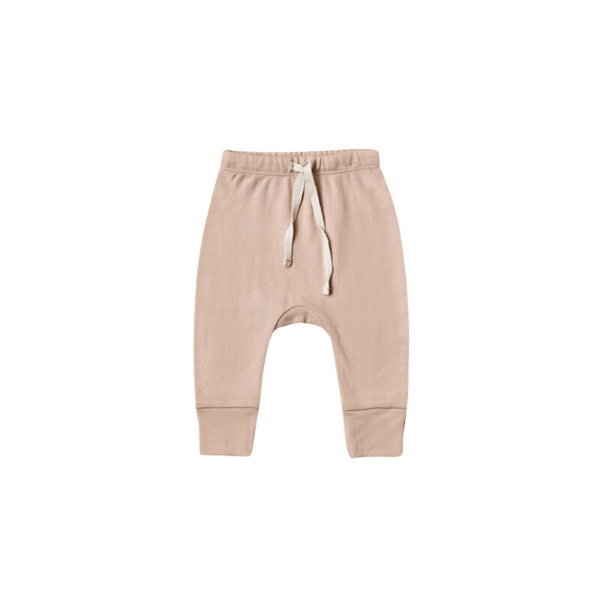 Quincy Mae Pants Drawstring Pant - Petal