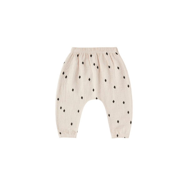 Quincy Mae Pants Woven Harem Pant - Natural