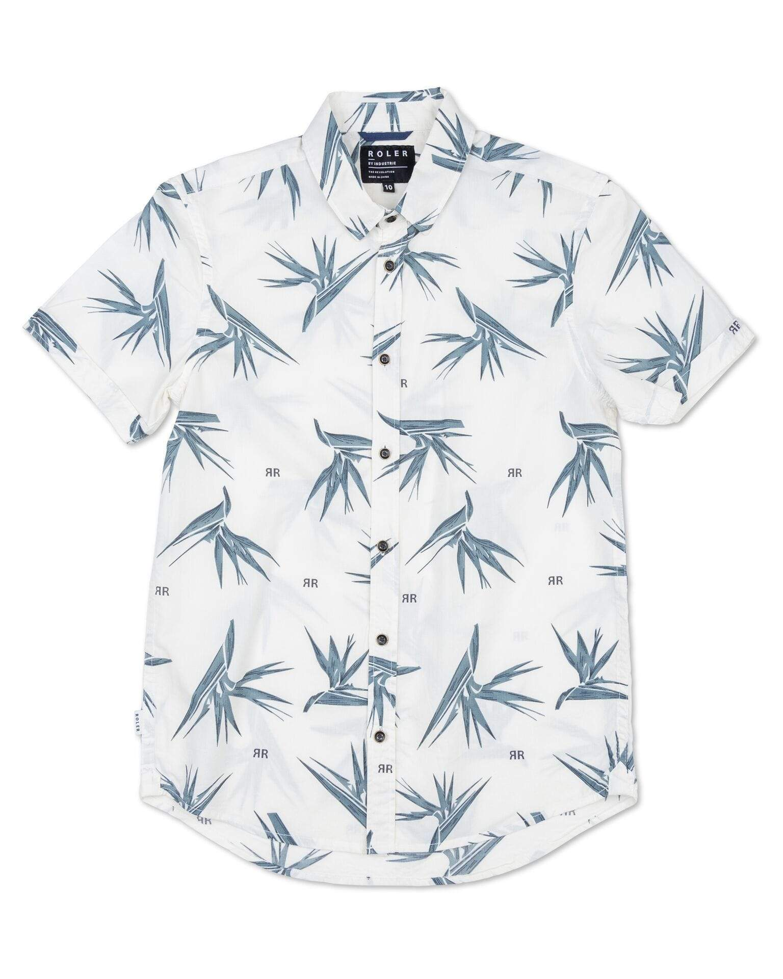 Roler Orchid SS Shirt Off White
