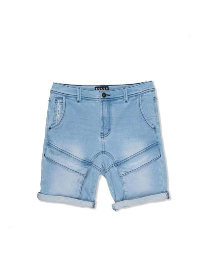 Roler by Industrie Shorts 8 Cargo Short - Mid Denim
