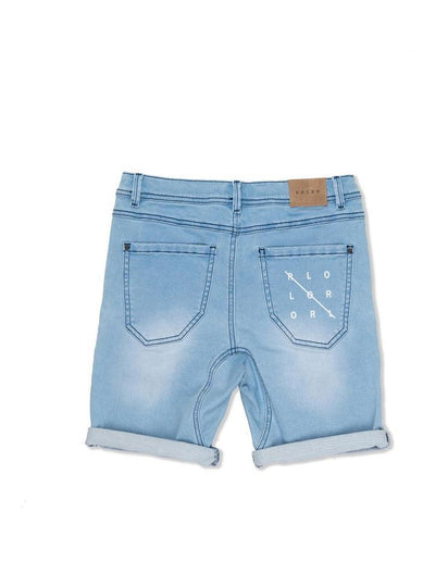 Roler by Industrie Shorts Cargo Short - Mid Denim