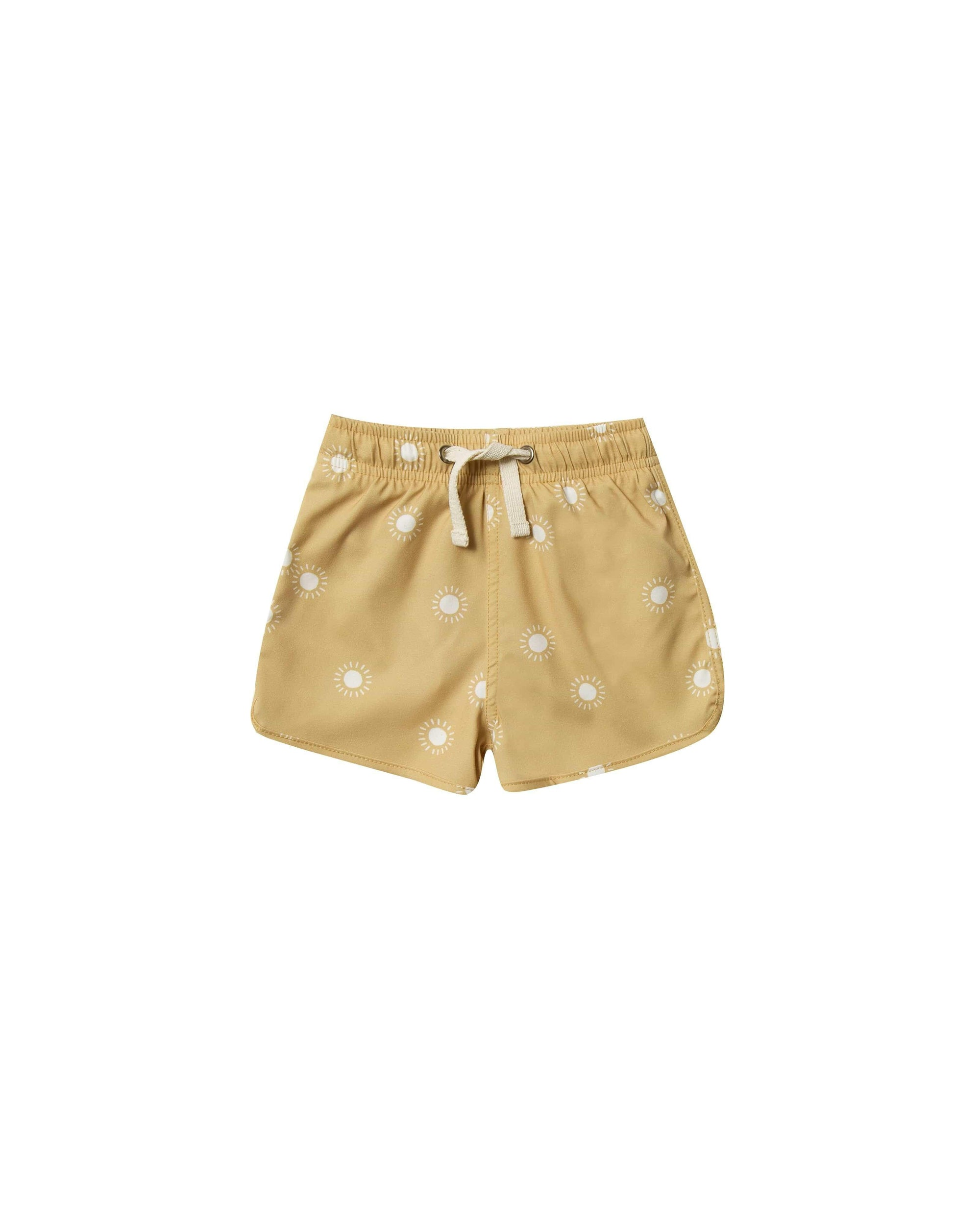 Rylee & Cru Shorts Sunburst Swim Trunk - Citron