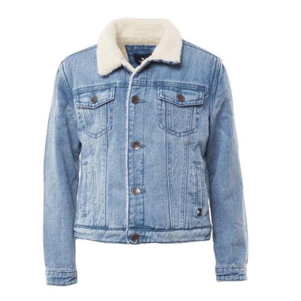 Renton Jacket - Blue Denim