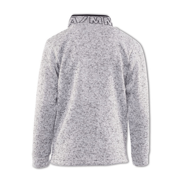 Haymes Quater Zip - Grey Marle