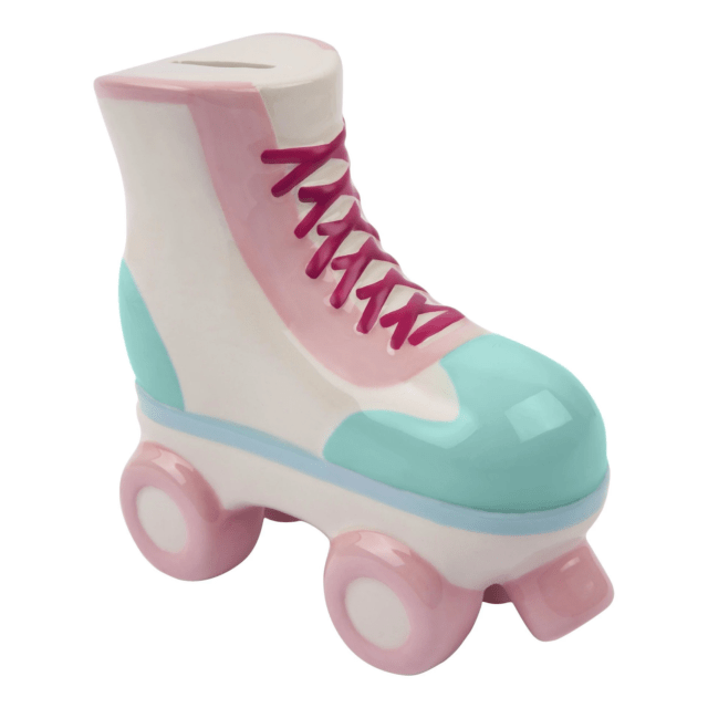 Roller Skate Money Bank