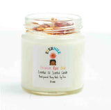 Geranium & Rose Scented Candle