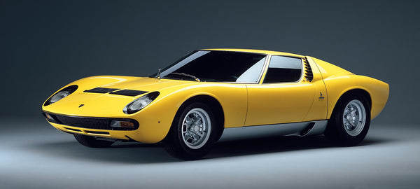 Produced By The Italian Automobile Company Lamborghini, Miura Was A Sports  Car And Is Also Considered To Be A Trendsetter In The High Performance, ...