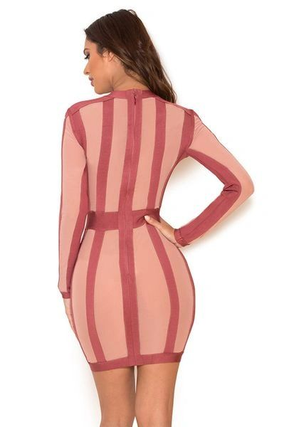 """ANGELA"" BANDAGE DRESS"