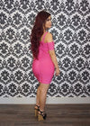 """BARBIE"" BANDAGE DRESS"