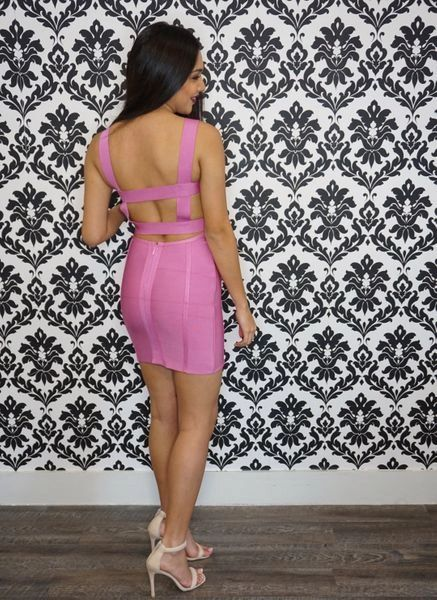 """CAROLYN"" BANDAGE DRESS"