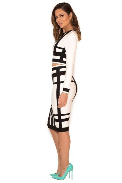 """CHLOE"" BANDAGE DRESS"