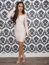 """CHRISSY"" BANDAGE DRESS"
