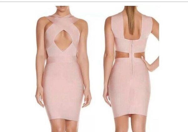 """DANIELLA"" BANDAGE DRESS"