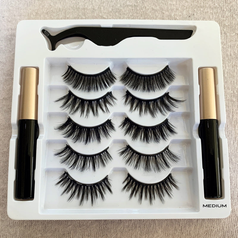5 Pair Luxe Magnetic Lashes