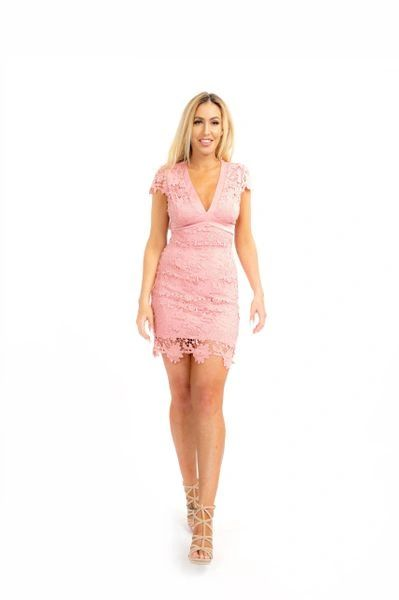 """FOREVERMORE"" BACK TIE DRESS"