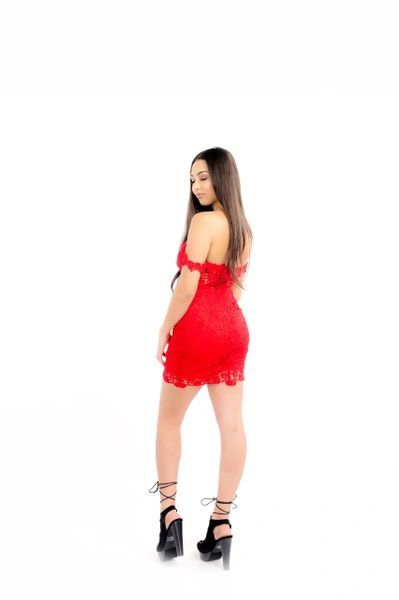 """LADY IN RED' DRESS"
