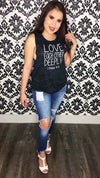 """LOVE EACH OTHER DEEPLY"" TANK"
