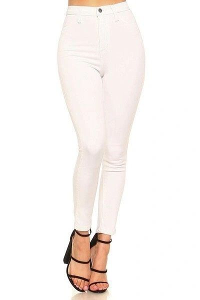 """NEW DIRECTION"" HIGH WAISTED SKINNY JEANS"