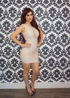 """STACEY"" BANDAGE DRESS"